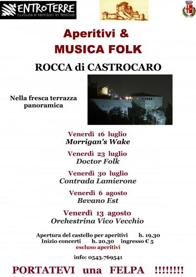 APERITIVI & MUSICA nella ROCCA di CASTROCARO
